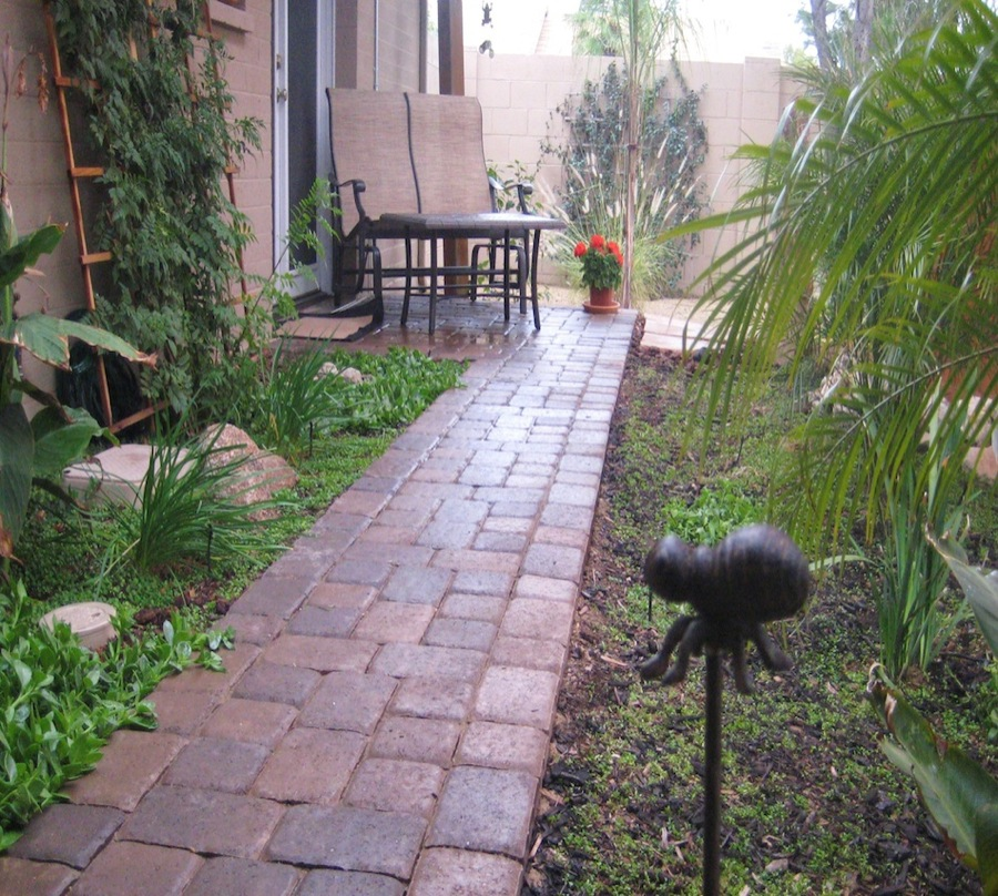 At Exotic Scapes we specialize in pavers installation including: patio  pavers, driveway pavers, pool deck pavers, and walkway pavers. - Phoenix Pavers ExoticScapes